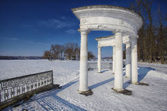 Arch in Winter Park Stock Photography