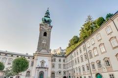 Archabbey de San Pedro en Salzburg, Austria Fotos de archivo libres de regalías