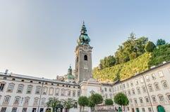 Archabbey de San Pedro en Salzburg, Austria Imagenes de archivo