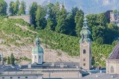 Archabbey de San Pedro en Salzburg, Austria Imagen de archivo libre de regalías