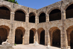 archaelogical της Ελλάδας πόλη της Ρό&del Στοκ Εικόνα