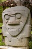 archaelogical colombia för agustin park san Royaltyfria Foton