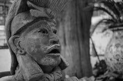 Archaelogical Mexicaans cijfer Stock Afbeelding