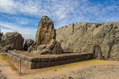 Archaelogical Qenqo. Royalty Free Stock Photos