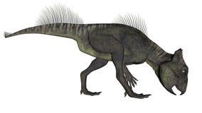 Archaeoceratops dinosaur - 3D odpłacają się Obrazy Royalty Free