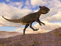 Archaeoceratops dinosaurie - 3D framför royaltyfri illustrationer
