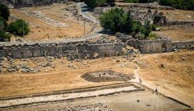 Archaeologic works Royalty Free Stock Image