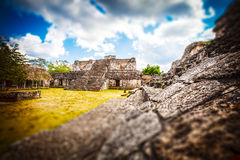 Archaeological Area of Ek-Balam, Yucatan, Mexico Royalty Free Stock Photography
