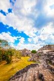 Archaeological Area of Ek-Balam, Yucatan, Mexico stock images