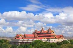 archaeological bagan museum myanmar Arkivfoto