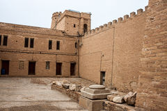 Archaeological castle Royalty Free Stock Images
