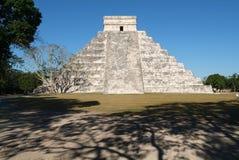 archaeological chichen den itzamexico lokalen Arkivfoto