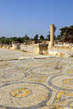 Archaeological excavations, national park Zippori, Galilee, Israel. Archaeological excavations and ruins of the ancient roman- and talmudic-era city of Zippori Royalty Free Stock Photography