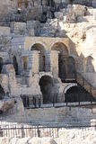 Archaeological excavations in the Old City of Jerusalem Stock Photography