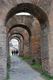 Archaeological excavations in the Roman Forum, Rome, Italy Royalty Free Stock Photography