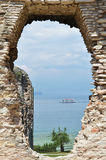 Archaeological excavations in Sirmione, Garda, Italy Stock Image