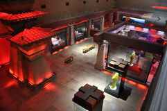 Archaeological Exhibition Hall Royalty Free Stock Photography
