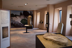 Archaeological Museum of Falerone, Italy Stock Photo