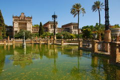 Archaeological Museum i Maria Luisa Park (Seville) Royalty Free Stock Photo