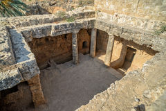 Archaeological museum in Paphos on Cyprus Royalty Free Stock Images