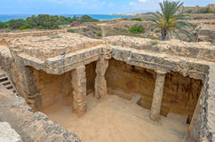Archaeological museum in Paphos on Cyprus Royalty Free Stock Photography
