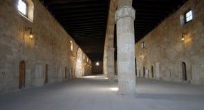 archaeological museum rhodes Royaltyfri Bild