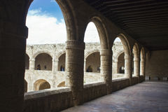 Archaeological museum of Rhodes Stock Images
