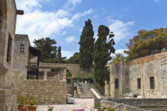 Archaeological museum of Rhodes, Greece royalty free stock images
