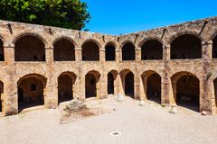 Archaeological Museum of Rhodes, Greece. Archaeological Museum of Rhodes in Rhodes island in Greece royalty free stock image