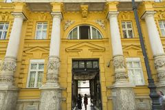 The Archaeological Museum in Zagreb, Croatia Stock Images