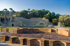 The archaeological and nature Park of Pausilypon, Naples Royalty Free Stock Image