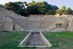 The archaeological and nature Park of Pausilypon, Naples Royalty Free Stock Images