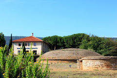 Archaeological Parc of Populonia near Piombino, Italy Royalty Free Stock Image