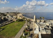 National Park Caesarea Royalty Free Stock Photography
