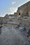 Archaeological Park of Caesarea Stock Images