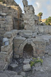 Archaeological Park of Caesarea Stock Photography