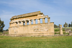 Archaeological Park. Metaponto. Basilicata. Italy. Royalty Free Stock Photography