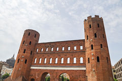Archaeological Park with Palatine towers,Turin Stock Photography
