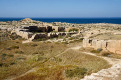 Archaeological park Tombs of the Kings,Paphos,Cyprus Stock Images