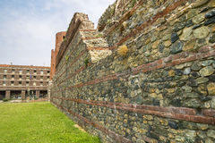 Archaeological Park in Turin Stock Images