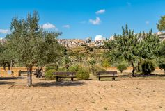 Archaeological Park of the Valley of the Temples in Agrigento, Sicily royalty free stock photos