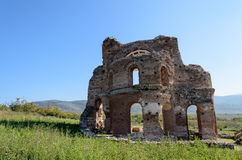 Archaeological remains Stock Image