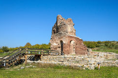 Archaeological remains Royalty Free Stock Images