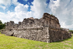 Archaeological ruins of Tulum Royalty Free Stock Photo