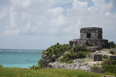The archaeological ruins of Tulum, Mexico Stock Photos