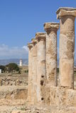 Archaeological site. In Paphos, Cyprus stock photo