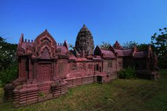 Archaeological site. Ancient city ,Samut Prakan province,Thailand Stock Photos