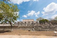 Archaeological Site of the Ancient Mayan Ruins, Chichen Itza, Mexico Stock Photo