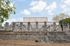 Archaeological Site of the Ancient Mayan Ruins, Chichen Itza, Mexico Stock Photography