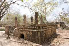Archaeological Site of the Ancient Mayan Ruins, Chichen Itza, Mexico Stock Images